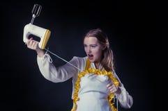Emocjonalny homemaker Zdjęcia Stock