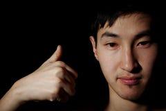 emocjonalny portret Zdjęcie Stock