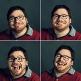 Emoções positivas Imagens de Stock Royalty Free