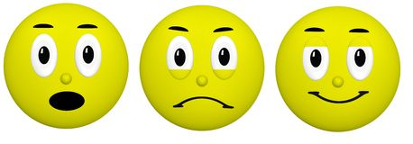 Emoji Clip Art Stock Image