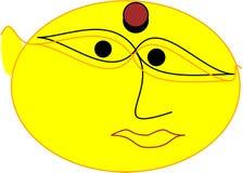 Emoji de Juarini Image libre de droits