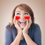 Emoji font face Photos stock