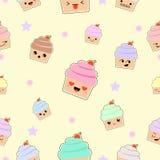 Emoji mignon d'oeufs Image stock