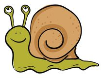 Free Emoji Of A Happy Green-colored Snail Vector Or Color Illustration Royalty Free Stock Photography - 160157957