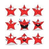 Emoji stars le icone Immagini Stock Libere da Diritti