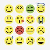 Emoji. Vector icons emoji. Expressionless emoji Royalty Free Stock Images
