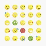 Emoji. Vector icons emoji. Expressionless emoji Stock Photography