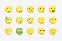 Emoji. Vector icons emoji. Expressionless emoji Stock Image