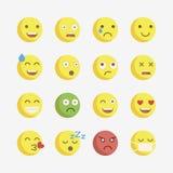 Emoji. Vector icons emoji. Expressionless emoji Stock Images