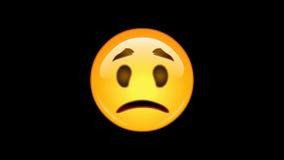 4 emojis -组装5 6 -生气蓬勃的- loopable -阿尔法通道 皇族释放例证