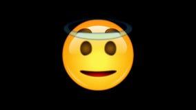4 emojis - paquete 6 de 6 - - loopable - canal alfa animado ilustración del vector