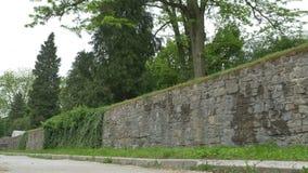 Emona市古老墙壁  影视素材