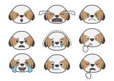Emoção 04 dos desenhos animados de Tsi zhu Foto de Stock Royalty Free