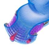 Emorroidi: Disordini anali, vista dei raggi x Fotografia Stock
