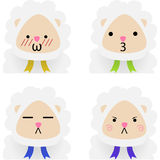 Emotes Stock Photography