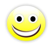 emoticon ευτυχής Στοκ φωτογραφία με δικαίωμα ελεύθερης χρήσης