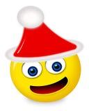 emoticon Χριστούγεννα Στοκ Φωτογραφίες