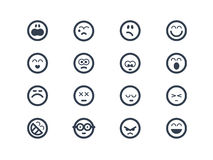 Emoticon Fotografie Stock