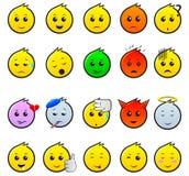 emoticon stock fotografie