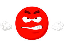 Emoticon Angry Stock Photos