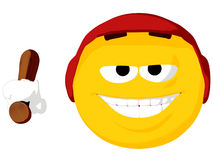 Emoticon Batter Royalty Free Stock Photo