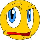 Emoticon complejo de la emoción ilustración del vector