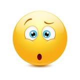 Emoticon confuso illustrazione vettoriale