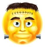 Emoticon de Emoji del monstruo de Halloween Fotos de archivo libres de regalías