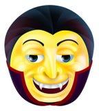 Emoticon de Emoji del vampiro Foto de archivo