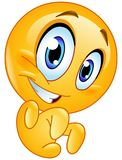 Emoticon de Grrr Imagens de Stock
