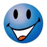 Emoticon de sorriso imagens de stock