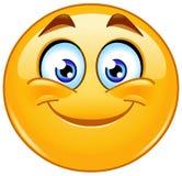 Emoticon de sorriso Fotos de Stock