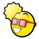 Emoticon de Sun Fotos de archivo