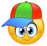 Emoticon del bambino Fotografie Stock
