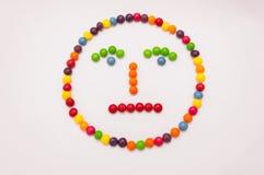 Emoticon del caramelo imagenes de archivo