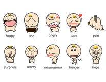 Emoticon di Bloon Fotografia Stock Libera da Diritti