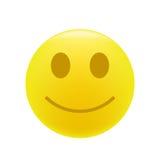 Emoticon di sorriso Fotografie Stock Libere da Diritti