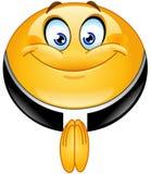 Emoticon do padre Imagem de Stock Royalty Free