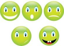 Emoticon do sorriso Imagem de Stock