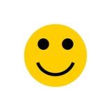 Emoticon do sorriso Fotos de Stock Royalty Free