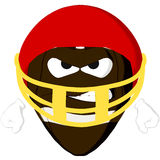 Emoticon Football Angry Royalty Free Stock Photo