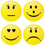 Emoticon group Royalty Free Stock Images