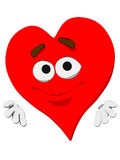 Emoticon Heart Royalty Free Stock Photo