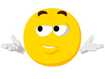 Emoticon I Don�t Know Stock Image