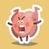 Emoticon Icon Evil Turkey Royalty Free Stock Photo