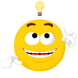 Emoticon Idea Royalty Free Stock Image