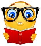 emoticon nerd Στοκ φωτογραφία με δικαίωμα ελεύθερης χρήσης
