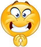 Emoticon piacevole Immagine Stock Libera da Diritti