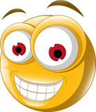 Emoticon smile for you design Stock Image