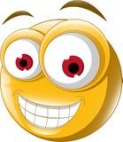 Emoticon smile for you design Stock Image